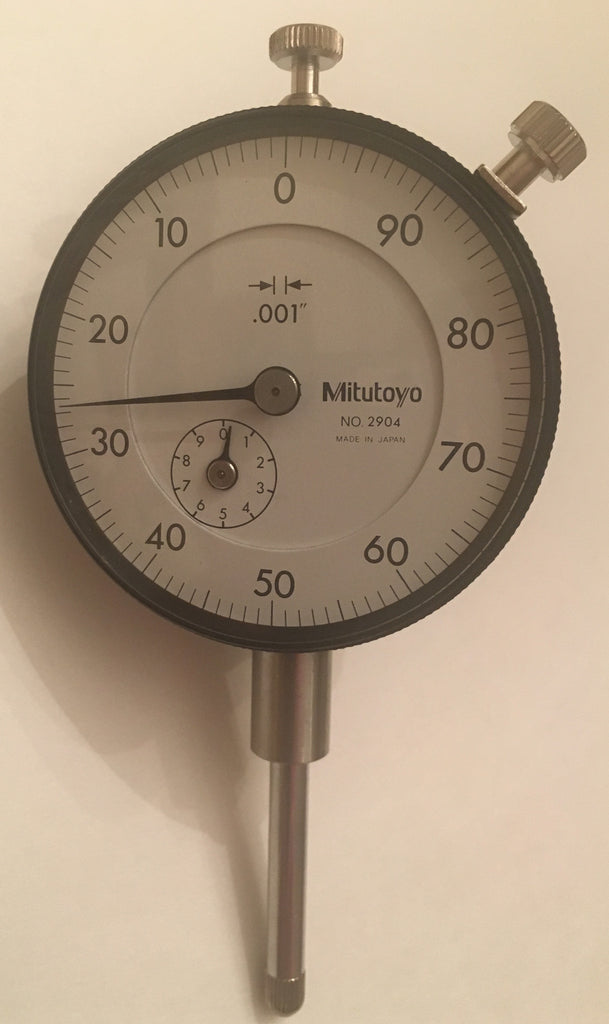 "Mitutoyo 2904 Dial Indicator, 0-1"" Range, .001"" Graduation *New - Open Box Item"