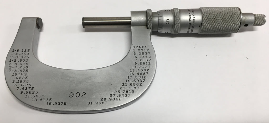 "Brown & Sharpe Tesa 902 Outside Micrometer, 1-2"" Range, .0001"" Graduation *USED/RECONDITIONED*"