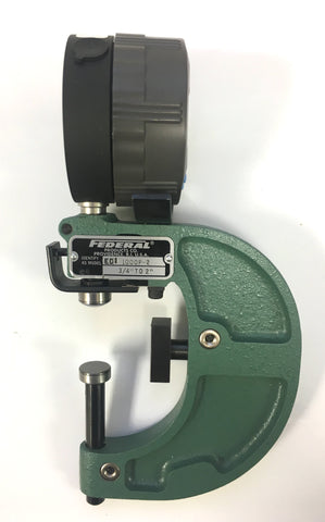 "Mahr Federal 1000P-2 Indicating Electronic Snap Gage, 3/4-2"" Range, Maxum EDI-10102 .00005""/0.001mm Resolution *USED/RECONDITIONED*"