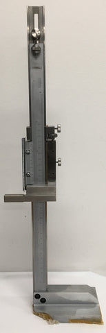 "Fowler Stainless Steel Vernier Height Gage, 0-12""/0-30cm Range, .001"" Graduation *DEMO*"