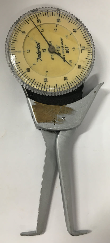 "Dyer 72 Intertest Dial Caliper Gage, .8-1.6"" Range, .001"" Graduation *USED/RECONDITIONED*"