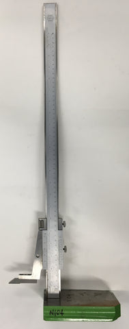 "Fowler 52-175-020 Helios Vernier Height Gage, 0-20""/55cm Range, .001""/0.05mm Graduation *USED/RECONDITIONED*"