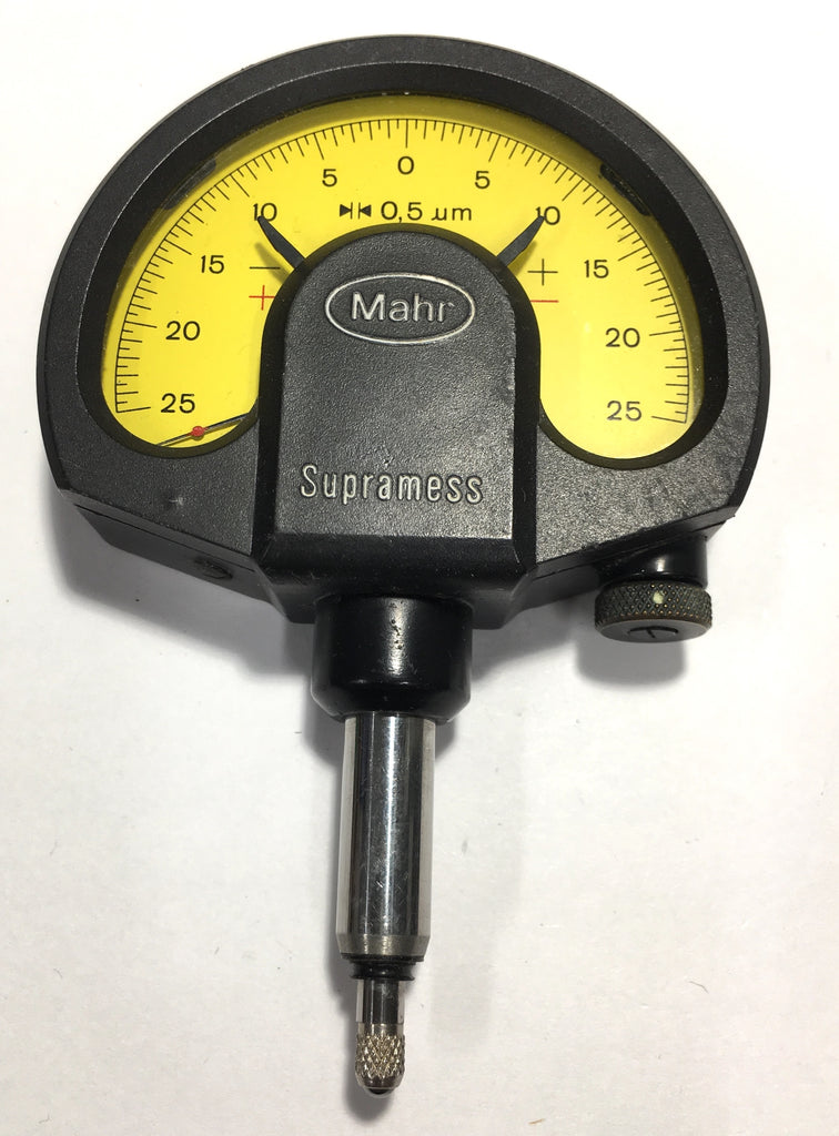 Mahr Federal 4335000 1002 Supramess Dial Comparator, ±0.025mm Measuring Range, ±0.0005mm Readings  *USED/RECONDITIONED*