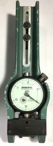 "Mahr Federal 167P-3407 ID Model Shallow Diameter ID / OD Gage, .0005"" Graduation *USED/RECONDITIONED*"