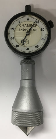 "Acme Scientific Co. Internal Dial Chamfer Indicator Gage, 0-1"" Range, 0-90 Degree, .001"" Graduation *USED/RECONDITIONED*"