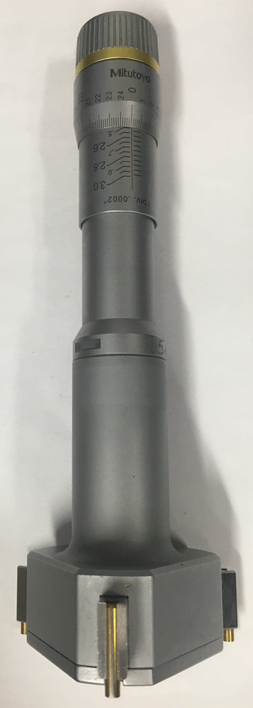 "Mitutoyo 368-271 Holtest with TiN Coated Contact Points, 2.500-3.000"" Range, .0002"" Graduation *USED/RECONDITIONED*"