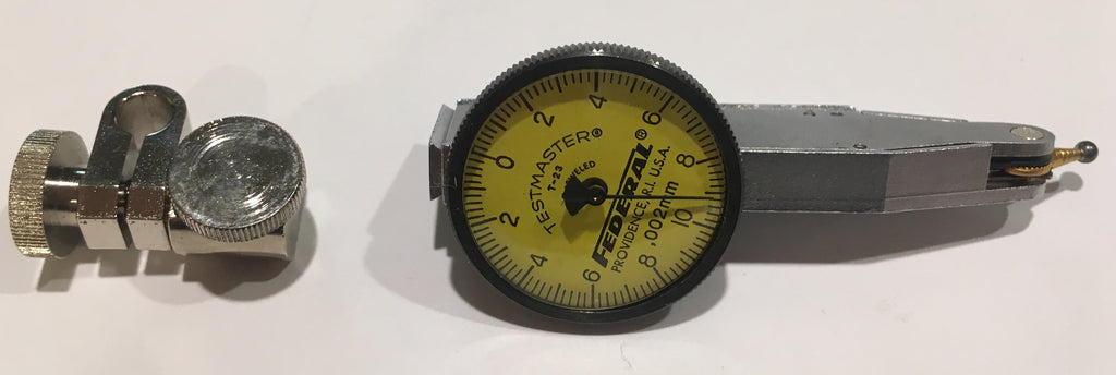 Mahr Federal T-23 Testmaster Metric Dial Test Indicator, 0.200m Range, 0.002mm Graduation  *USED/RECONDITIONED*