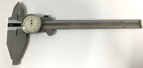 "Fowler 52-025-007 Helios Dial Caliper, 0-7"" Range, .001"" Graduation *USED/RECONDITIONED*"