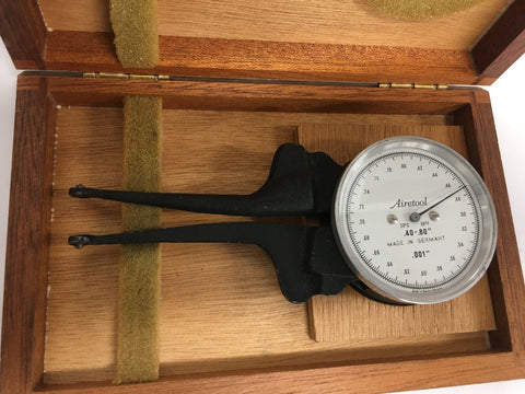 "Airetool Internal Dial Caliper Gage. .40-.80"" Range, .001"" Graduation *USED/RECONDITIONED*"