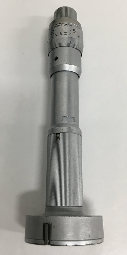 "Mitutoyo 368-210 Holtest Three-Point Internal Micrometer with Carbide Pins, 1.6-1.8"" Range, .0002"" Graduation with Carbide Pins *USED/RECONDITIONED*"