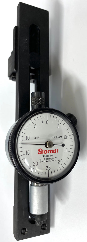 "Starrett 681 Out-Of-Roundness Gage 1.25-5"" Range, .001"" Graduation *DEMO*"
