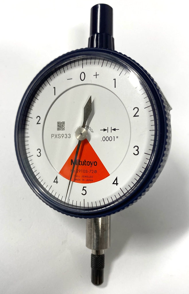 "Mitutoyo 2910S-72 Dial Indicator, 0-.008"" Range, .0001"" Graduation *USED/RECONDITIONED*"