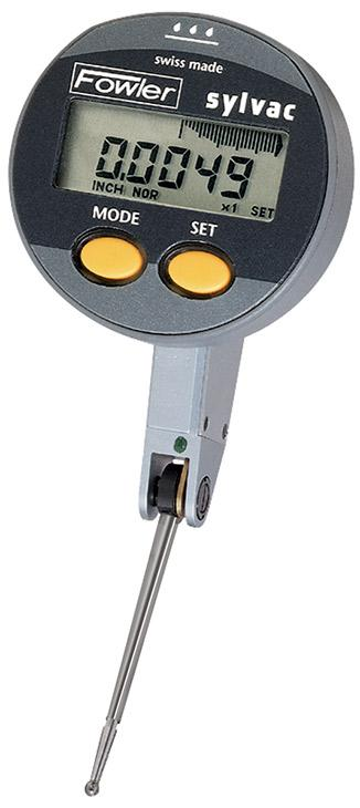 "Fowler 54-562-888-0 QuadraTest Electronic Test Indicator .020""/0.5mm Range .00005""/0.001mm"