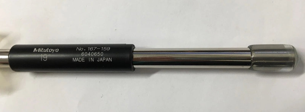 "Mitutoyo 167-159 Micrometer Standard Bar, 19"" Length, .37"" Diameter *New-Open Box"