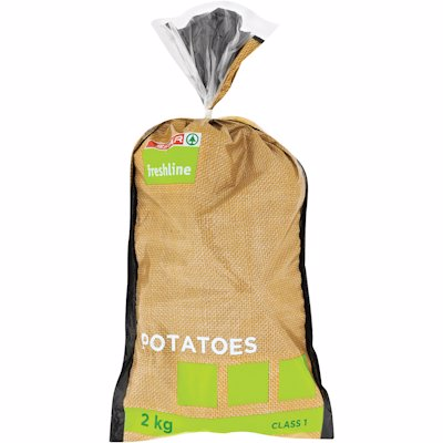 FRESHLINE POTATOES 2KG