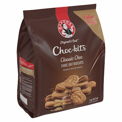 BAKERS CHOC-KITS CLASSIC CHOCOLATE 1KG