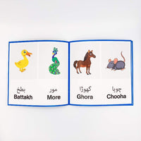 Animals in Urdu for children