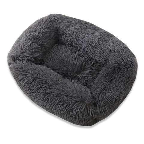 Rectangle cosy pet stress relief bed