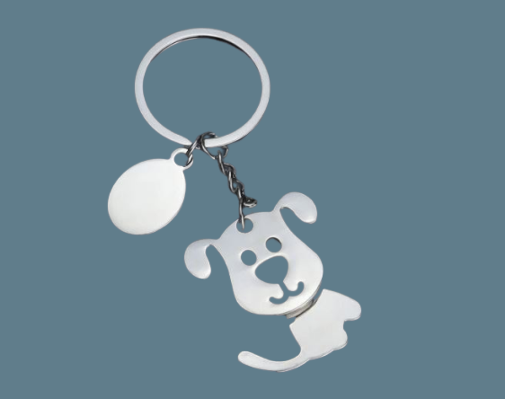 Cute dog keyring or bag charm
