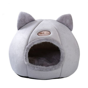 Cute cosy cat cave - PetSnooze.co.uk