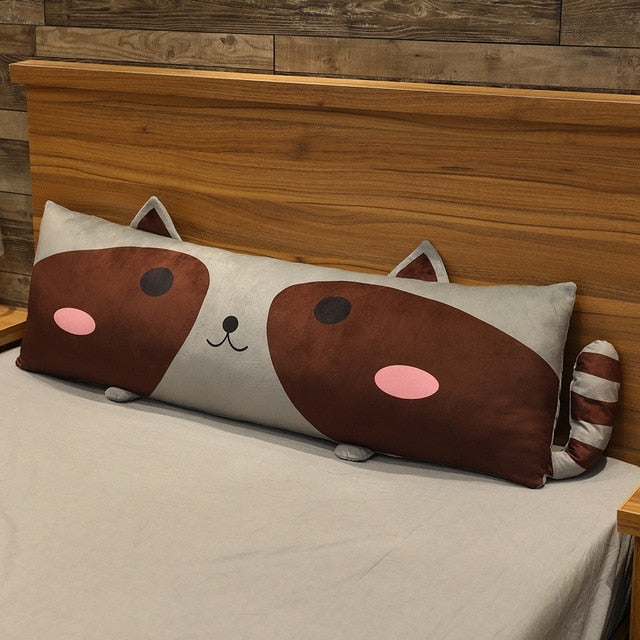 Cute animal themed cuddle sleeping pillows