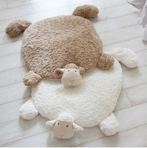Super cute sheep pet floor mat