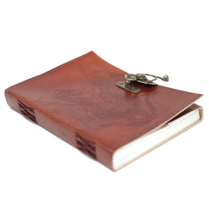 LEATHER DRAGON NOTEBOOK