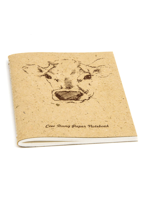 RECYCLED DUNG & TEA PAPER  NOTEBOOKS