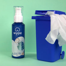 Load image into Gallery viewer, Wype Eco-friendly Toilet Wipe Gel