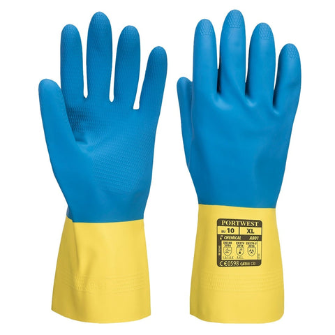 Photo: Chemical Resistant Gloves