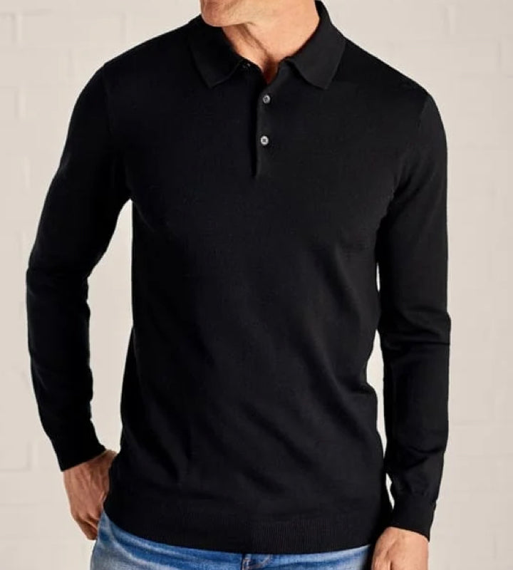 Photo: Long sleeve polo shirts