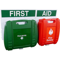 Evolution First Aid and Fire Safety Point, Large - 43 x 65cm