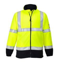 Flame Resistant Anti-Static Hi-Vis Fleece