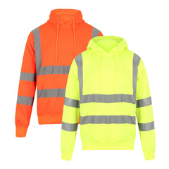 Kapton Hi-Vis Full Pullover Hooded Sweatshirt