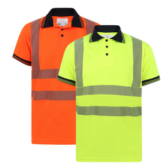 Kapton Hi-Vis Polo Shirt Heat Seal Tape