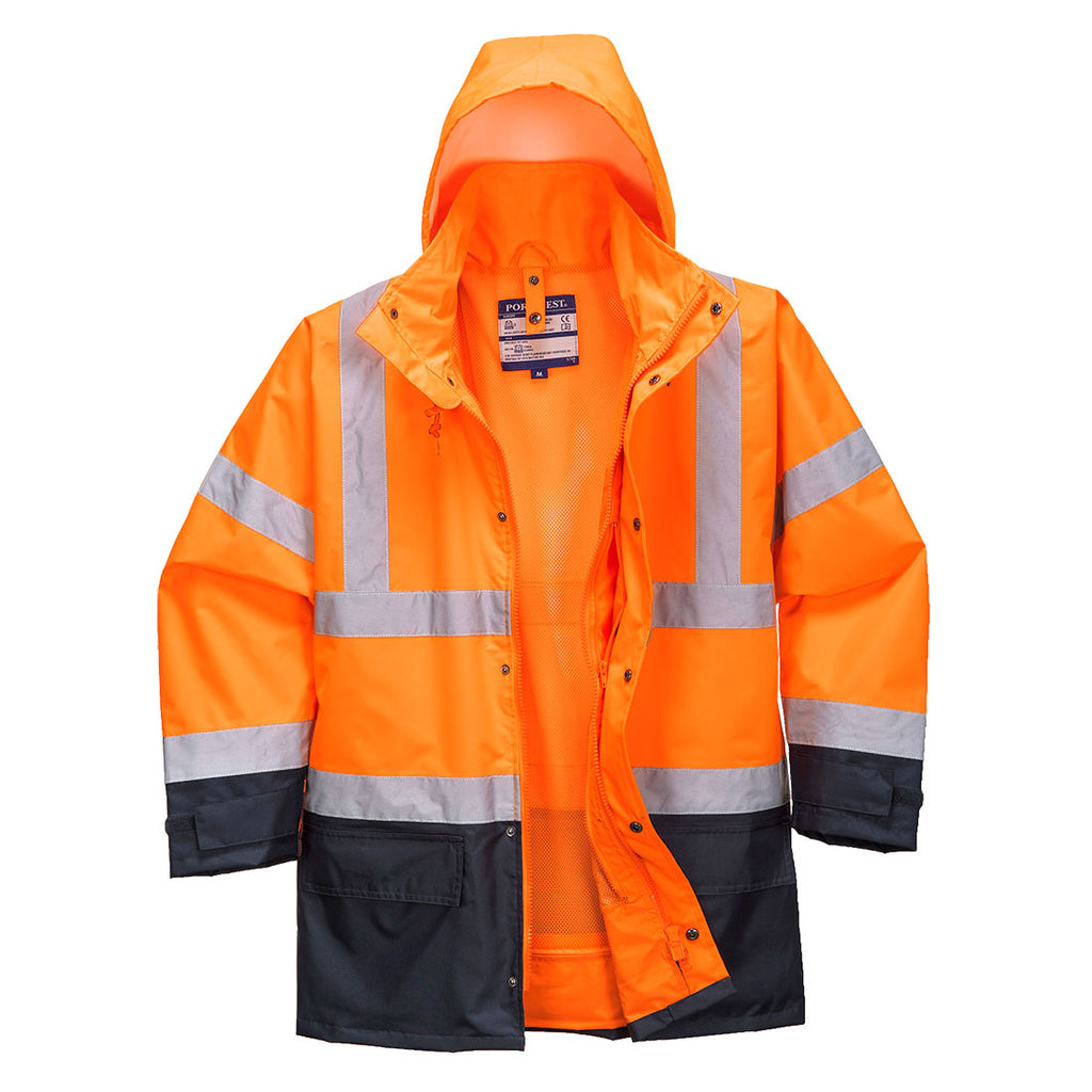 Hi-Vis Executive 5-in-1 Jacket