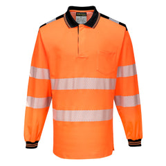 PW3 Hi-Vis Polo Shirt L/S