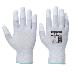 Vending Antistatic PU Fingertip Glove