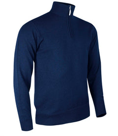 Glenmuir Zip Neck Lambswool Sweater