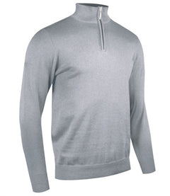Glenmuir Zip Neck Cotton Sweater