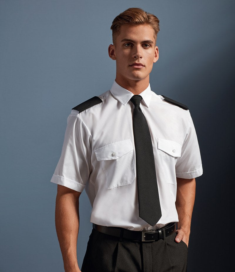 Premier Short Sleeve Pilot Shirt