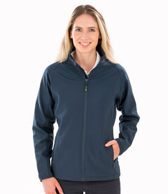 Result Genuine Recycled Ladies Printable Soft Shell Jacket