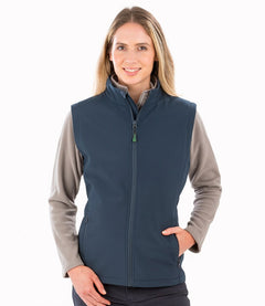 Result Genuine Recycled Ladies Printable Soft Shell Bodywarmer