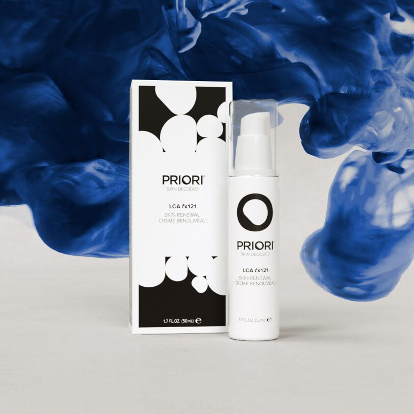 Priori LCA fx121 Skin Renewal Cream | Lactic Acid Face & Neck Cream