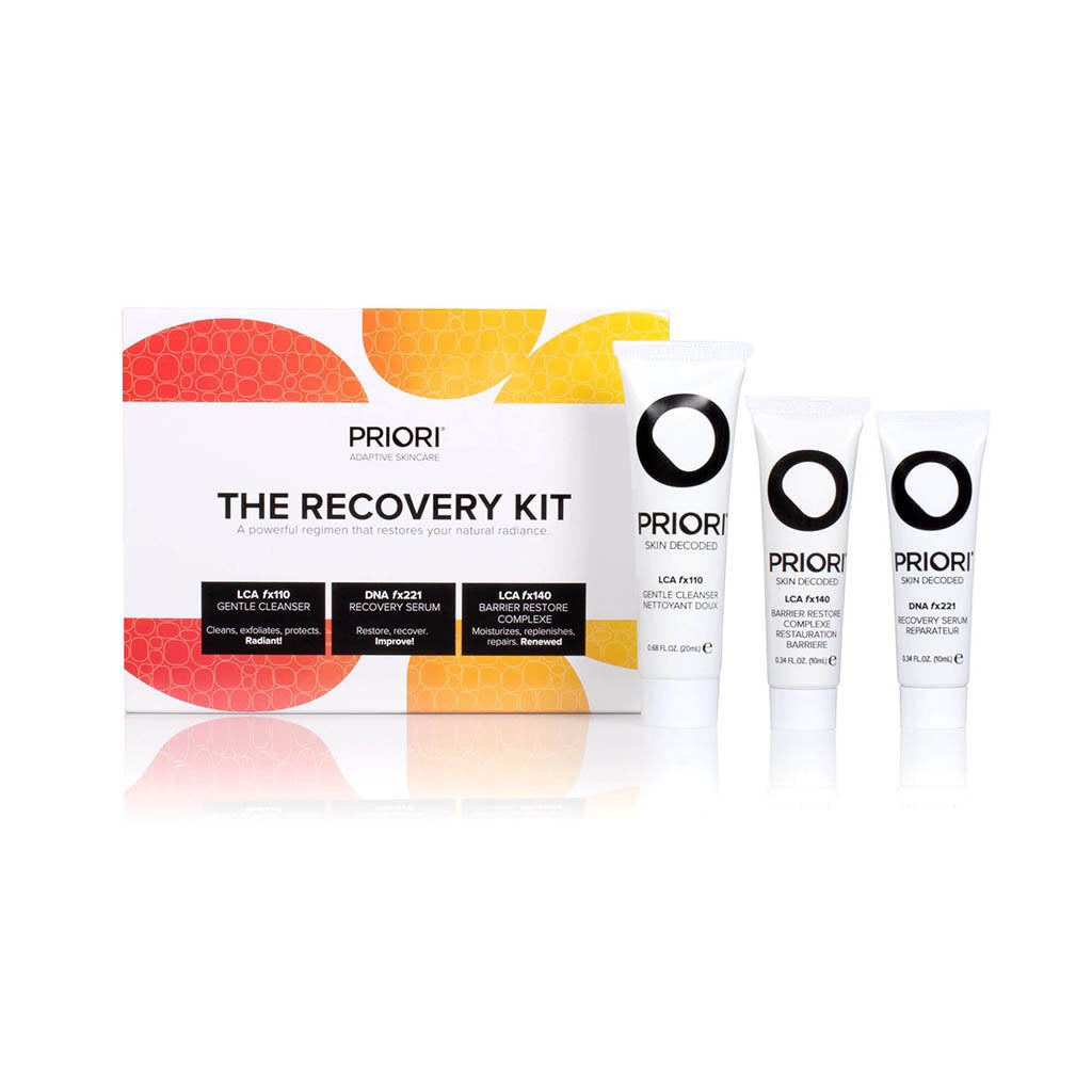 The Recovery Kit | Priori Skincare Travel & Trial Kits