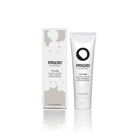 Priori Natural Enzyme Peel & Mask fx360 | Purifying & Hydrating Pumpkin & Papaya Mask & Face Peel