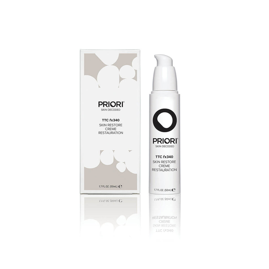 Priori Skin Restore Cream TTC fx340 | All-Natural 24-Hour Face Moisturizer for All Skin Types