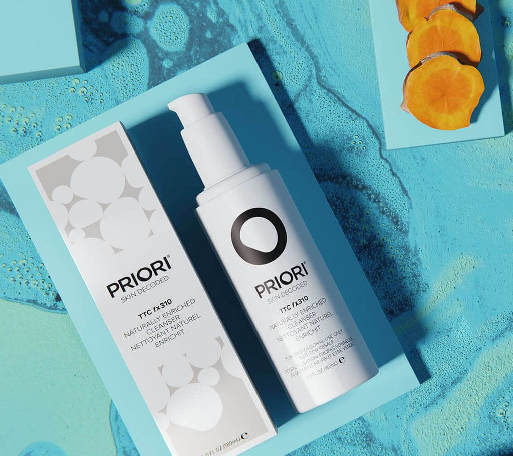Priori Naturally Enriched Cleanser with Grape Seed and Green Tea