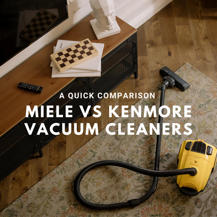 Kenmore Canister Vacuum vs Miele Canister Vacuum Cleaner Comparison.