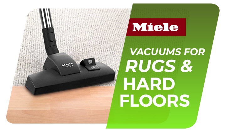 vacuum cleaners works with carpet rugs and hardfloor